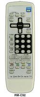 Пульт JVC RM-C92