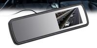 Carsmile CM-43H автомобильное зеркало с монитором